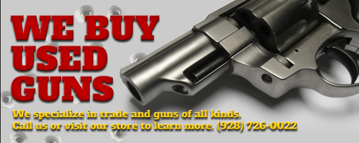 We Buy Used Guns