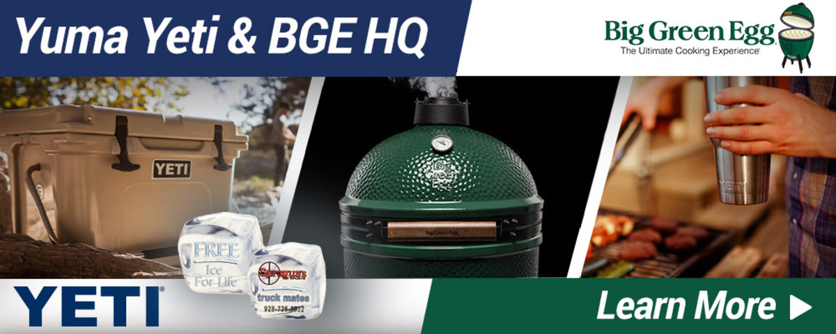 Yeti and Big Green Egg